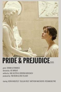 Iconic Movie Posters, Minimal Movie Posters, Minimal Poster, Iconic Movies, Film Posters, Pride & Prejudice Movie, Really Good Movies, Film Anime, Movie Prints
