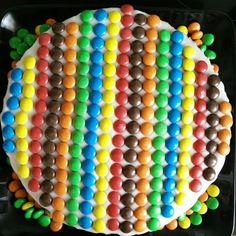 Emilies regnbuekage til hendes 4-års fødselsdag