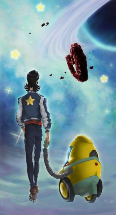 space dandy cotmrobomance