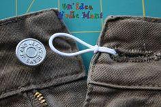 Come allargare la vita a gonne e pantaloni, senza cucire (ma che brava la Doria!!!)