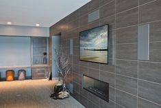 Media room with in-wall speakers | Cleanly Executed | CEDIA Media Room Installers