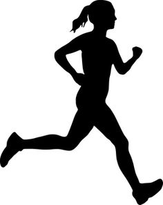 Free User:Mohamed_Hassan Silhouette & Silhouette Images - Woman, Running, Silhouette​, Sport 👉 If you find this image useful, you can make a donation to - Running Silhouette, Girl Silhouette, Silhouette Images, Silhouette Cameo, Running Art, Girl Running, Running Women, Sports Graphic Design, Tattoo Graphic
