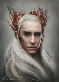 The Elven King by Aegileif.deviantart.com on @deviantART