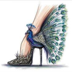 fashion illustration Aquarell, Malerei, etsy, Kompass, Geschenkidee Source by Fashion Illustration Shoes, Illustration Mode, Fashion Illustrations, Fashion Design Drawings, Fashion Sketches, Arte Fashion, Diy Fashion, Trendy Fashion, Fashion Shoes