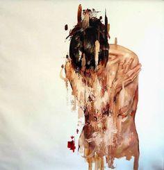 paintings by cesar biojo: