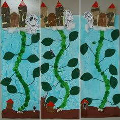 jack et le haricot magique GS - Pesquisa Google Petite Section, Preschool Curriculum, Preschool Crafts, Visual Perceptual Activities, Art For Kids, Crafts For Kids, 3rd Grade Math Worksheets, Traditional Tales, Teacher Helper