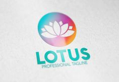 Lotus Logo by eSSeGraphic on Creative Market