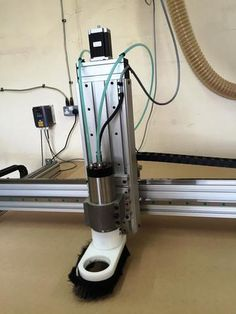 Refurbished 4' x 4' Rack and Pinion Desktop CNC Router Package | www.WorldOfCNC.com