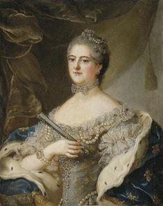 Élisabeth-Alexandrine de Bourbon-Condé, Mademoiselle de Sens (18th century) by an unknown artist after Jean-Marc Nattier