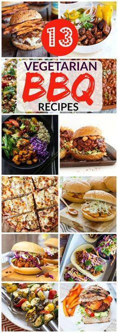 13 Vegetarian BBQ Recipes
