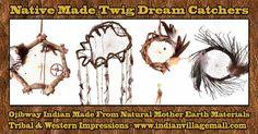 Tribal Impressions - Handmade Authentic Twig Dream Catchers- www.indianvillagemall.com