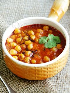Chickpeas w/Roasted Cumin and Tomatoes... so good!  I added cauliflower and even little man like the chickpeas!