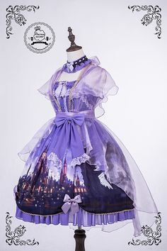 Love it!! This dress is magnificent!The purples...!
