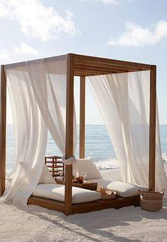 COBERTI Cama balinesa para exterior #camas #balinesas #moderna #clasica #exterior #intemperie #resistencia #calidad #madera #coberti #malaga