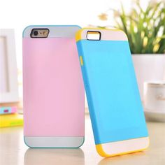iPhone 6(4.7) Silikon Hülle in Verbindung mit drei Farben - spitzekarte.com