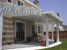 Alumawood Laguna Lattice U0026 Newport Solid Patio Covers Patio Shade  Structures, Outdoor Structures, Lattice