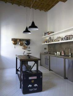 Dark Wood Counters