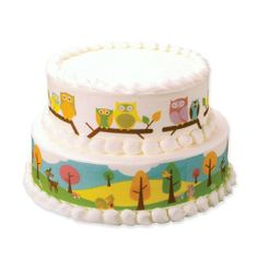 Lucks Edible Image Designer Prints Woodland Animal Variety, 36-Pack by Lucks. $42.95. Lucks Edible Image® Decorations are fun and easy to use decorating sheets for buttercream, fondant, gum paste, chocolate, whipped toppings, fudge and ice cream cakes. Simply loosen the design from its backing sheet by gently rolling it over the edge of a table or counter. Then carefully peel the image away from its backing sheet, position and place where desired on your cake. Gently smooth the...