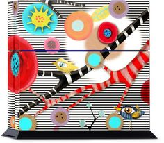 Striped Landscape PlayStation by Rupydetequila | Nuvango