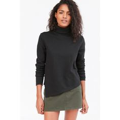 Cheap Monday Haunt Turtleneck Sweater ($90) via Polyvore featuring ...