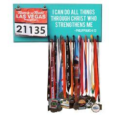 Running Medal Hanger Inspirational Quotes – Runrilla