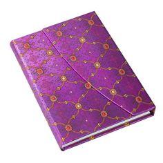 PAPERBLANKS Notizbuch Seidenpracht Veilchen, midi liniert, 16,95 € #paper #book #journal #gift