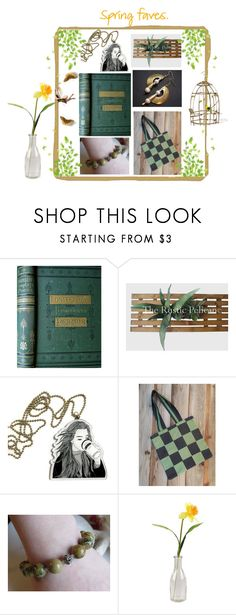 """""""Spring Faves"""" by jarmgirl ❤ liked on Polyvore featuring Houghton and vintage"""