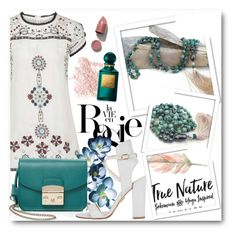 """""""True Nature Jewelry 6"""" by fashionmonsters ❤ liked on Polyvore featuring Topshop, Whiteley, Furla, Bare Escentuals, Paul Andrew and Tom Ford"""