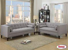670 Gray Living Room - Berrios te da más