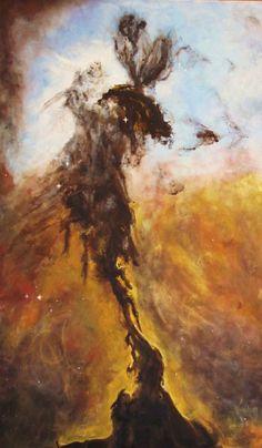 "Eagle Nebula 30"" x 48"" @ Emma Hollins: Aesthetic Edge"