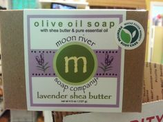 Shea Butter, Olive Oil Soap, Moon River, Soap Company, Pure Essential Oils, Body Care, Whole Food Recipes, Pure Products