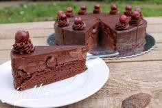 Dobos Torte Recipe, Torte Cake, Hungarian Cake, Hungarian Recipes, Baking Recipes, Cake Recipes, Dessert Recipes, Paleo Dessert, Fun Desserts
