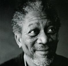 Morgan Freeman - one of my favorites of all time.  Just an amazing face.