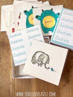 schiller's platzli: Geburtstagsgeschenk für Kinder DIY Memory