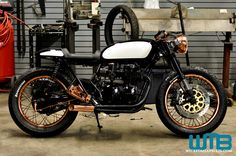 Honda Cb750 Cafe Racer | The Patina' vintage Honda CB750 Cafe Racer Kott Motorcycles