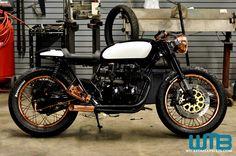 Honda Cb750 Cafe Racer | The Patina' vintage Honda CB750 Cafe Racer Kott Motorcycles
