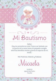 invitación Baptism Invitations Girl, Baby Shawer, Baby Design, Little Man, Communion, Christening, New Baby Products, Diy And Crafts, Birthday Parties