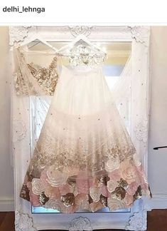 Bespoke Indian bridalwear, Indian and Asian wedding reception dresses and bridal lenghas for high-end brides. Indian Bridal Lehenga, Indian Bridal Wear, Indian Gowns, Indian Attire, Indian Wear, Lehenga Wedding, Asian Wedding Dress, Indian Wedding Outfits, Bridal Outfits