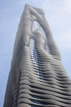 Aqua Tower...one of my favorite buildings.