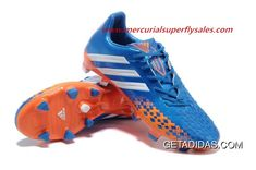 fe9993aafc FG Blue/RunningWhite/Oranged 2013/2014 Competitive Price Big Adidas Predator  LZ II Sport New Easy Travelling TopDeals, Price: $101.28 - Adidas Shoes, Adidas ...