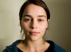 Emilia Clarke goes makeup-free