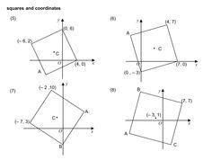 MEDIAN Don Steward secondary maths teaching: squares and coordinates Teaching Math, Maths, Secondary Math, Mathematics, Squares, Blog, Math, Blogging, Math Resources