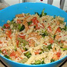 Rainbow Pasta Salad - mmm - making this asap!!