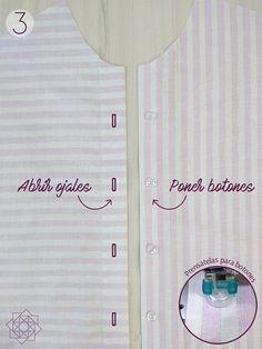 Tutorial de costura. Costura fácil. Molde gratis. Camisa a rayas. DIY Costura. DIY ropa. Patrón de costura gratis. Free sewing pattern. Design Blog, Costura Diy, Sewing, Words, Womens Fashion, Tips, Templates, Shirt Patterns, Sewing Patterns Free