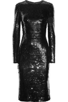 Dolce & Gabbana Sequined mesh dress