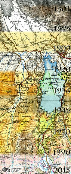 The evolution of OS maps