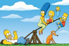 The Simpsons Bart Simpson Homer Simpson Lisa Simpson Maggie Simpson Marge Simpson Santa's Little Helper (the simpsons) The Simpsons, Simpsons Characters, Simpsons Funny, Homer Simpson, Simpson Wallpaper Iphone, Cartoon Wallpaper, Hd Wallpaper, Bedroom Wallpaper, Funny Photos
