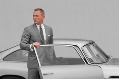A sharp dressed man with a classic car. These are the kind of guys shopping at www.ScottBarber.com