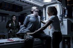 'Alien: Covenant', na trama os tripulantes da nave Covenant seguem em direção a um planeta..