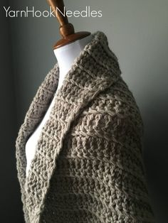 Chunky Crochet Shrug with FREE Pattern Link! – YHN | Yarn|Hook|Needles